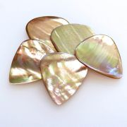 Abalone Tones - Awabi - 4 Guitar Picks | Timber Tones